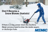 Don't Become A Snowblower Statistic
